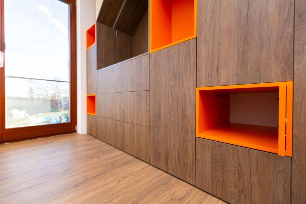 Dětský pokoj skříň interiér na míru Brno Velecký