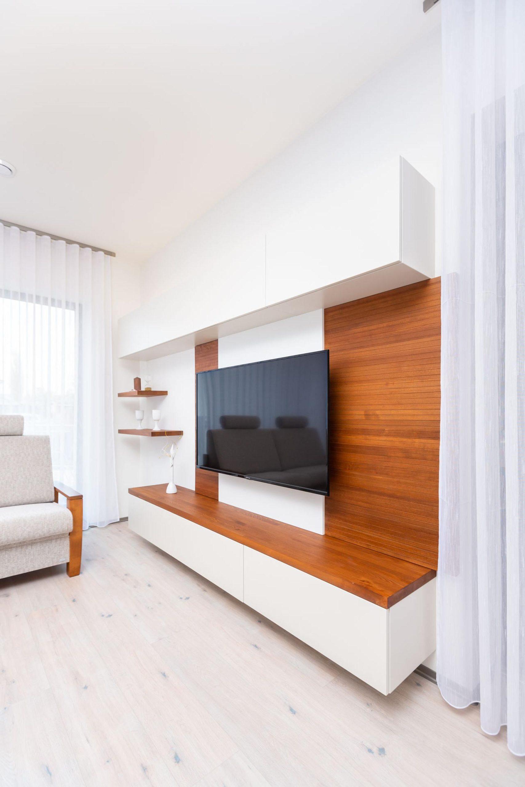 Obývací pokoj interiér na míru Brno Velecký