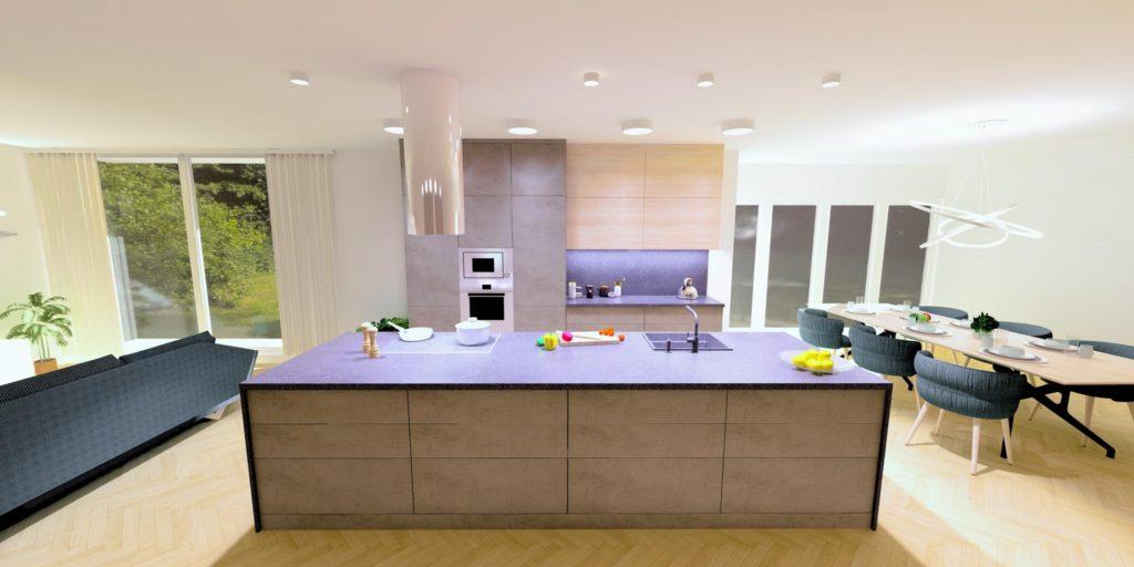 Kuchyně nábytek na míru Brno Velecký